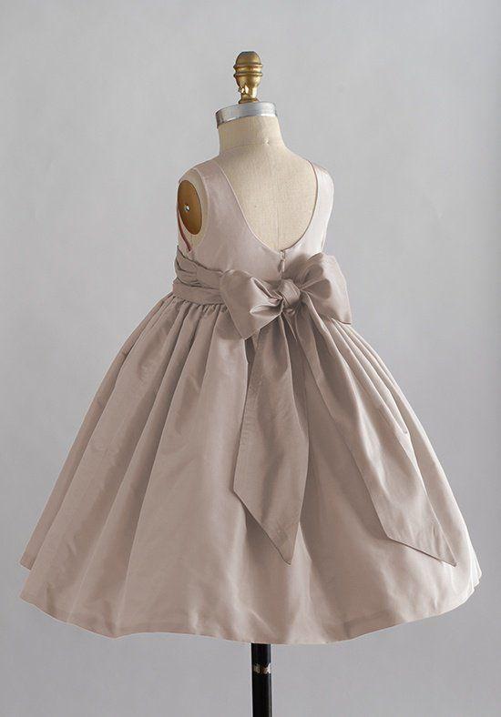 Elizabeth St. John Children Ashley Flower Girl Dress - The Knot