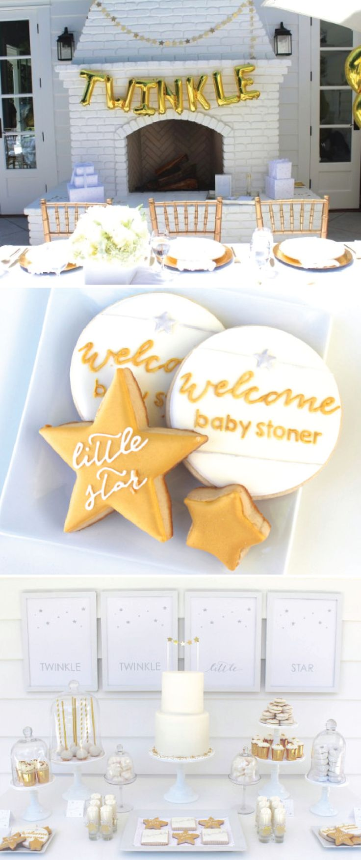 Celebrate the soon-to-arrive little boy or girl in your friend's life with this adorable star-themed baby shower. From party food to favor ideas, you can find all the gender-neutral baby shower décor inspiration you need to plan the ultimate celebration.