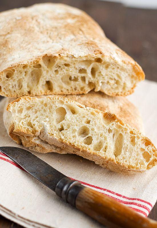 Chapatas. Receta de pan chapata