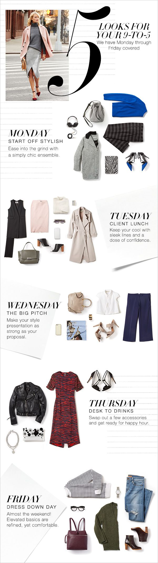 A Week in Outfits #Shopbop