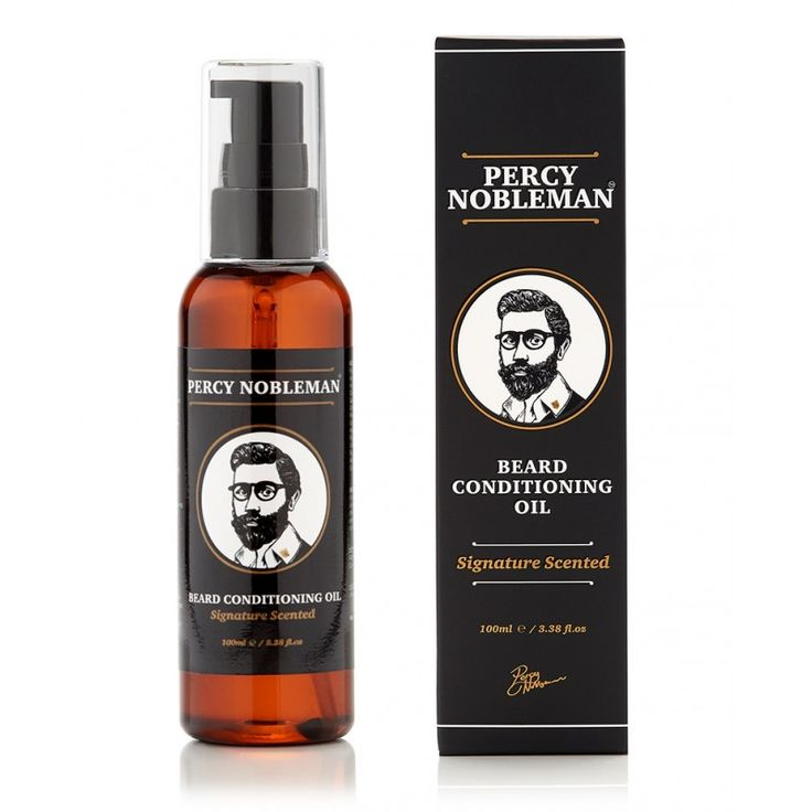 Huile à barbe Signature Percy Nobleman