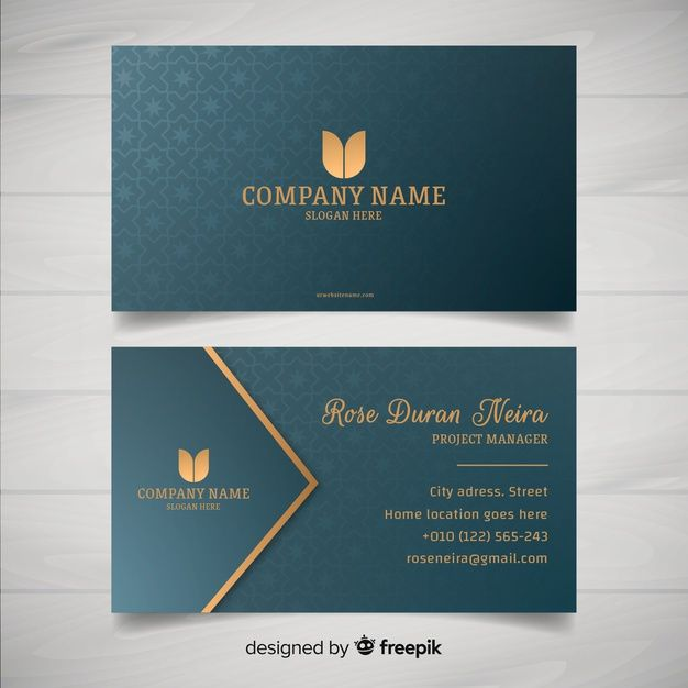 Elegant Style Business Card Template Free Business Card Templates Visiting Card Printing Printing Business Cards