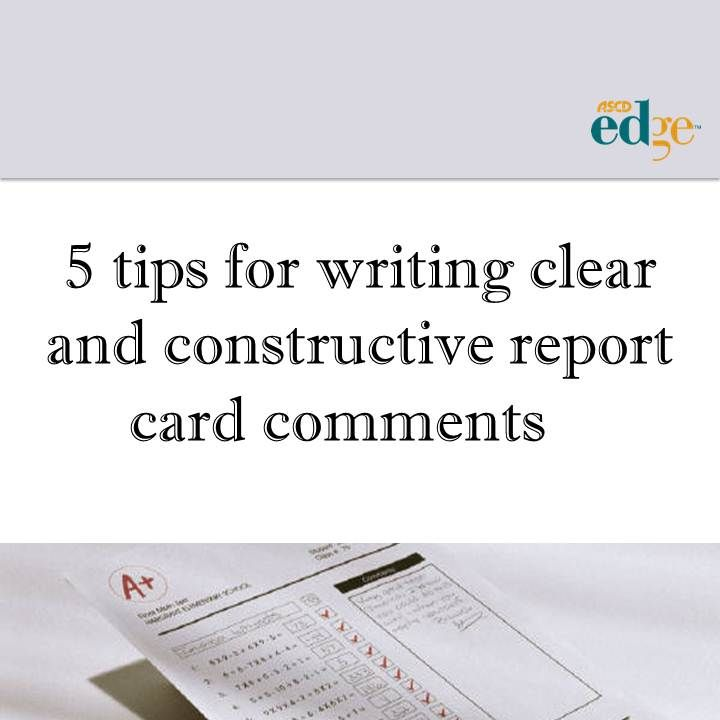 writing report cards Work habits and achievement-judaica and hebrew guidelines for writing report cards letters to parents cumulative record sheva weissman congregation tifereth jacob,.