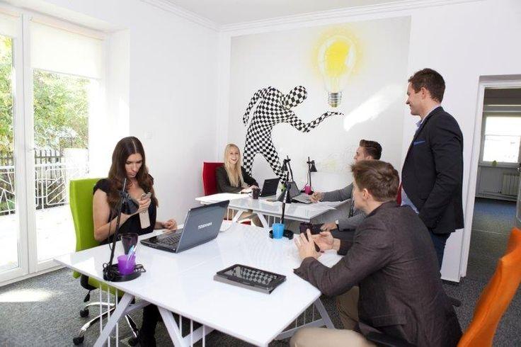 Coworking space is always full of energy.