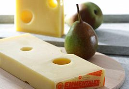 Emmental Cheese - Emmentaler Kaese: Emmentaler Cheese