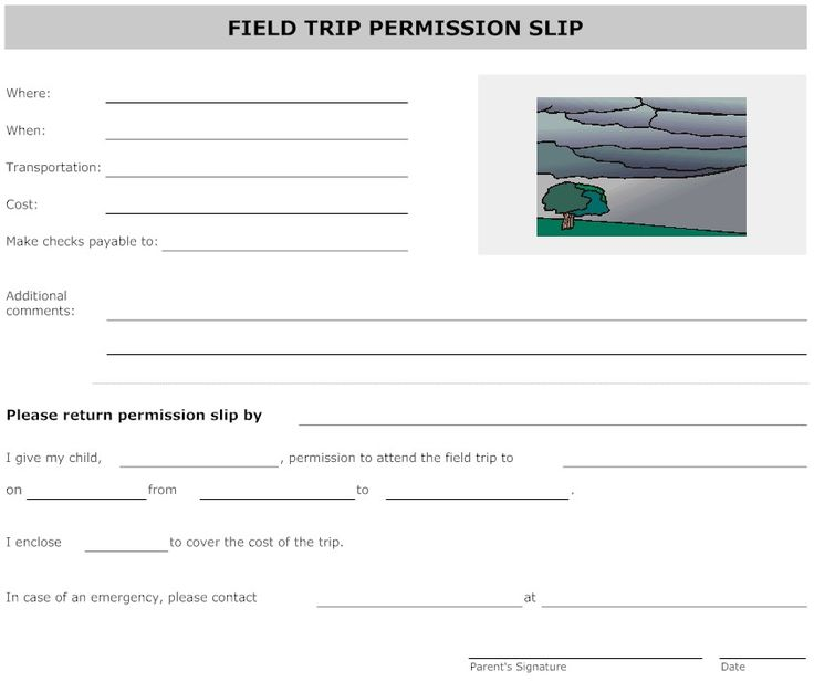 Sample Field Trip Permission Letter For Professional Experts