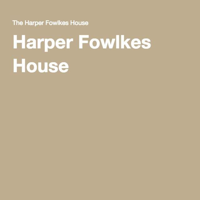 Harper Fowlkes House.  Savannah.  10-4 M-Sat.  $5/$10.