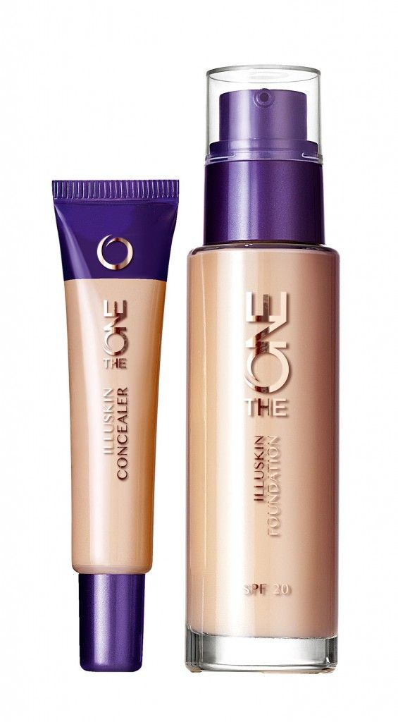 Oriflame The ONE Illuskin Concealer and Foundation #theone #garycockerill #makeup
