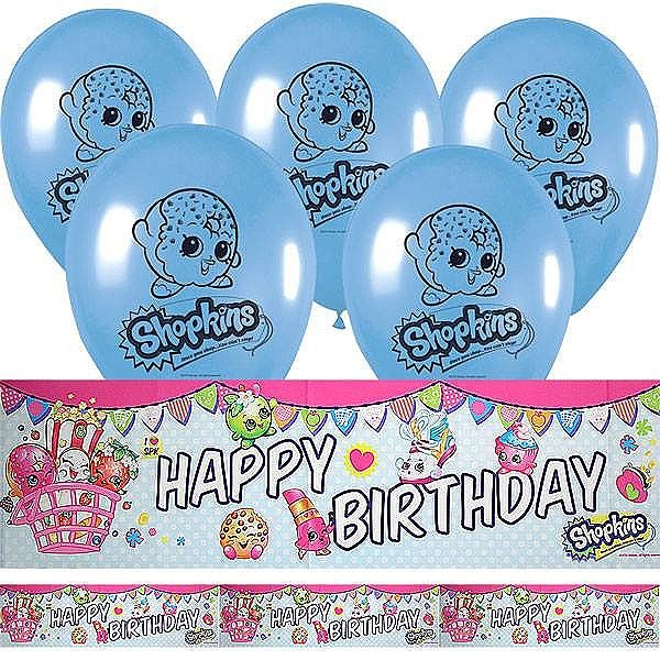 Shopkins Birthday Banner Shopkins Party Banner: Shopkins Party Supplies: A Collection Of Ideas To Try