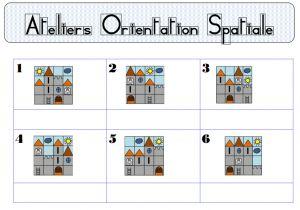 Orientation...ou comment s'exercer à construire des châteaux...