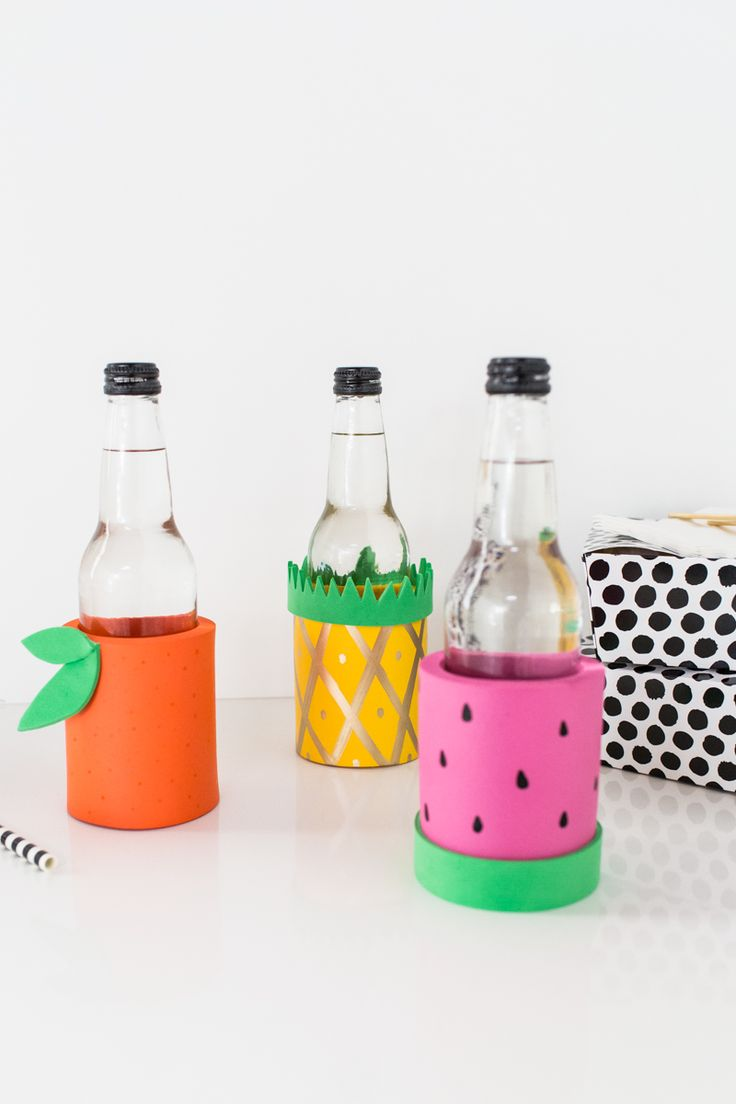 DIY Fruit Koozies | Julep