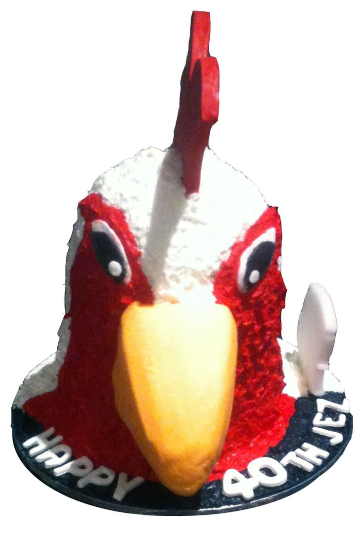 Sydney Roosters Cake Like us at www.facebook.com/melianndesigns