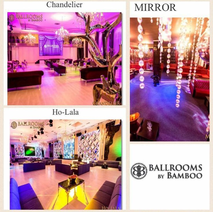 Ballrooms by Bamboo iti ofera un pachet complet de servicii, de la crearea conceptului potrivit evenimentului tau, pana la oferirea de servicii GRATUITE de consiliere si management, implicarea 100% in implementarea celor mai mici detalii si organizarea eficienta de la A la Z.  HO-LALA, MIRROR SI CHANDELIER SUNT cele 3 saloane dedicate EXCLUSIV evenimentelor private si iti stau la dispozitie oricand doresti sa le vizionezi. www.ballroomsbybamboo.ro