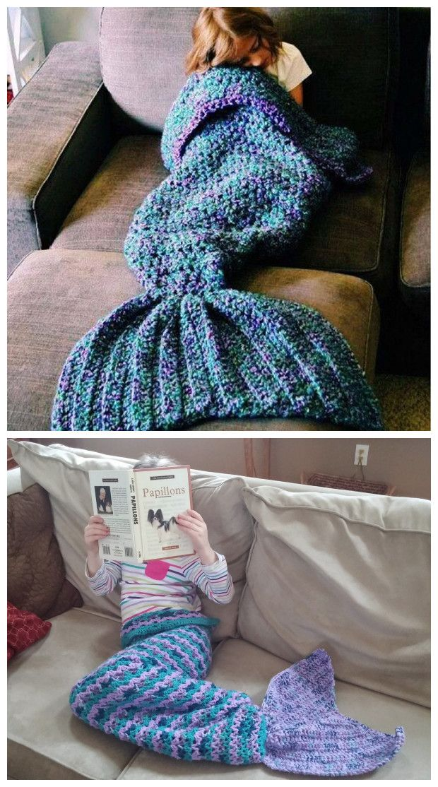 OMG .. Comfy & cUte! Mermaid Tail Blanket ❤︎ #want