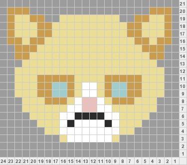 Cat Knitting Pattern Chart : Grumpy Cat chart for to knit on stuff! Mittens Pinterest Stitches, Char...