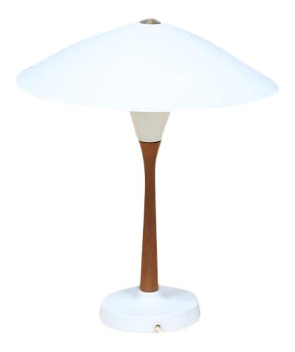 Chinese Hat Style Scandinavian Table Lamp