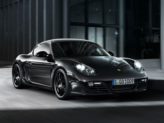 Cayman S Black Edition.