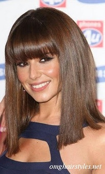 how to style hair like cheryl cole 17 best images about all about bangs on 6007