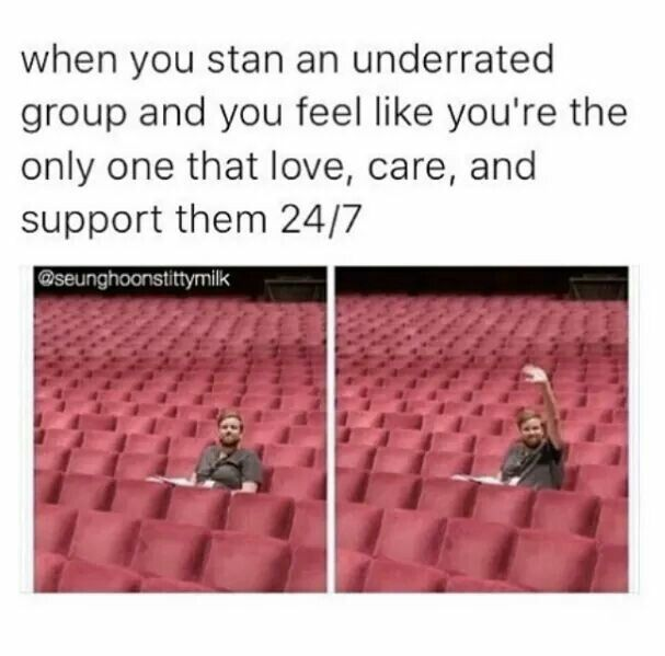 This is definitely how I felt when I first stanned rookie groups on their debut, like SVT, ASTRO, KNK, MONSTA X as well as the underrated NU'EST before they came out in PD101 S2