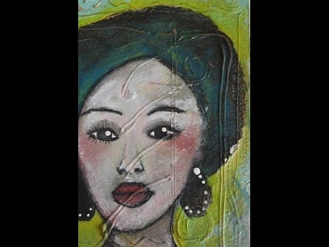 Mixed Media Art Transformation -  Shona