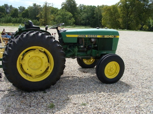 1977 John Deere 2040 Farm Tractor Agricultural Equipment 40 HP | eBay