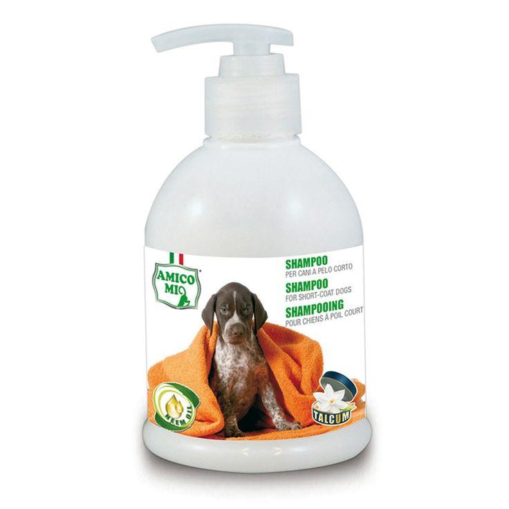 MA-FRA Shampoo per cani a pelo corto 250ml pulizia detergente manto LAM010