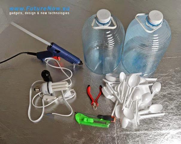 dinfo.gr - 21 DIY ιδέες για να κατασκευάσετε τα δικά σας φωτιστικά