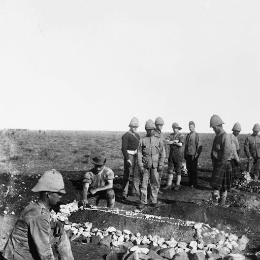 Decorating The Graves in Boer War- Google Cultural Institute #WarandCulture