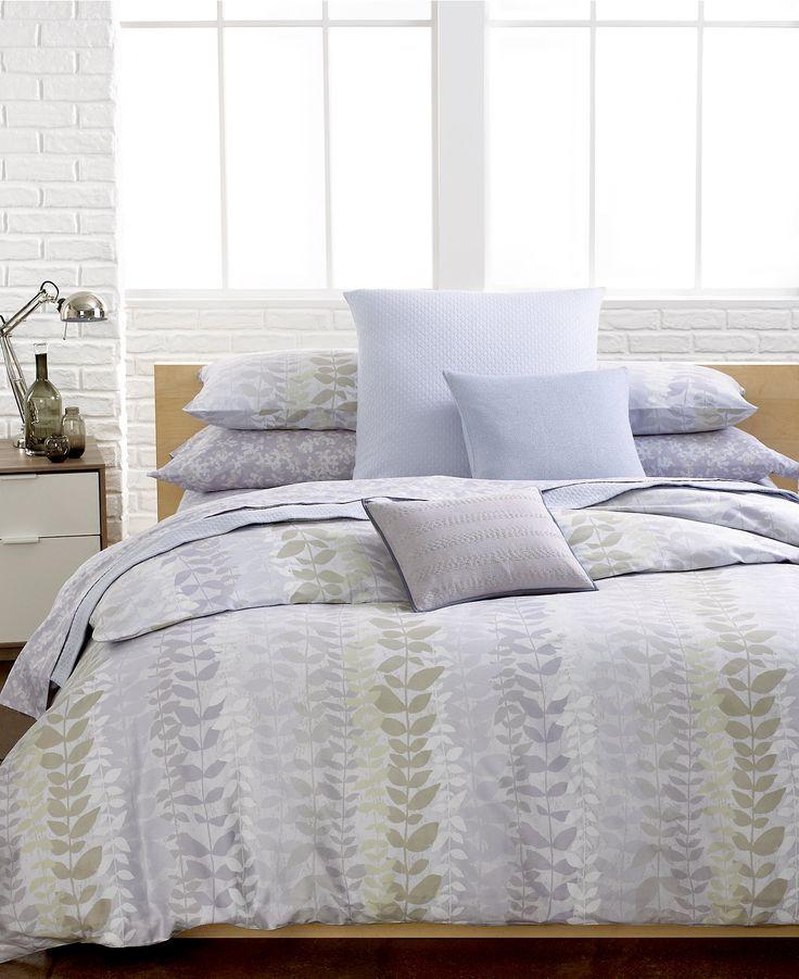 Calvin Klein Essex Comforter and Duvet Cover Sets - Duvet Covers - Bed &  Bath -
