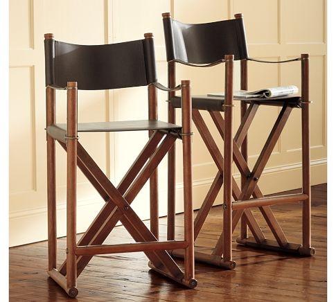 chase director bar chair alternative bar stool also RL Home or Armani Casa