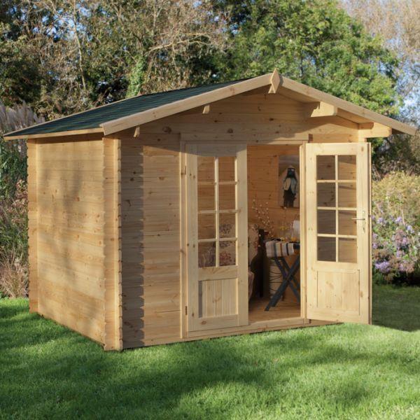 Hartwood 2.2m x 2.2m Witney Log Cabin -http://www.sheds.co.uk/log-cabins/hartwood-2-2m-x-2-2m-witney-log-cabin.html