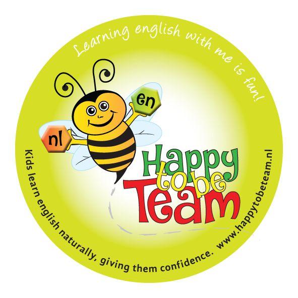 Happy to be Team Sticker