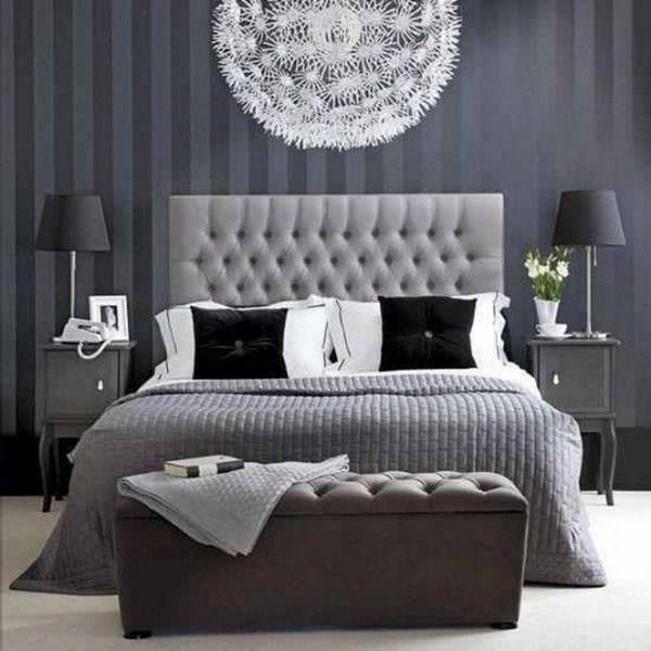 #Decoración de dormitorios con #papelpintado.