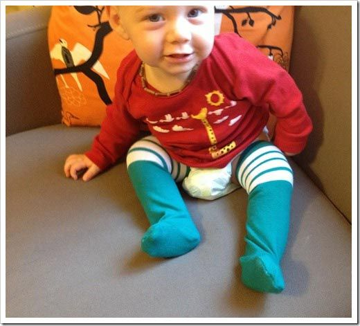 How to Make Thigh High Baby Socks Step By Step Tutorial