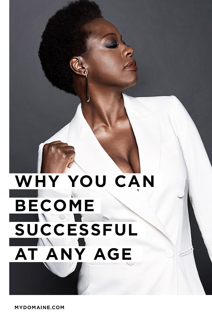 14 successful and inspirational women who hit their career strides later in life:
