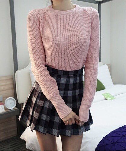 Do not like thecolor combo.  Not a fan of the too short skirt and way too heavy of a knit and style ofsweater.