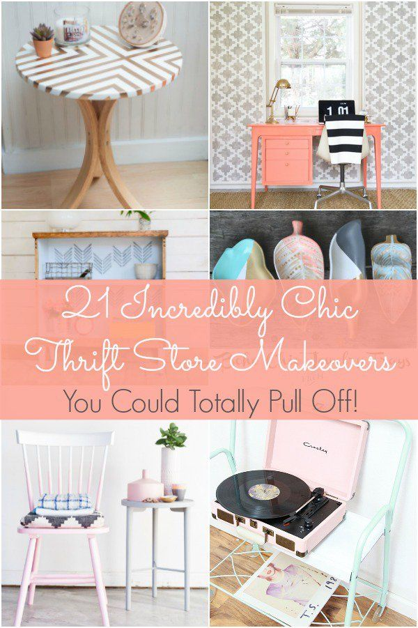193 Best Thrift Store Transformations Images On Pinterest | DIY, Thrift  Store Finds And Thrift Stores