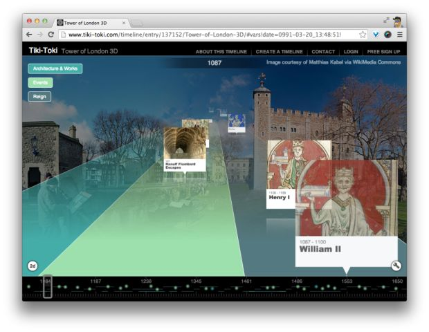 Tiki-Toki – инструмент для создания интерактивных таймлайнов