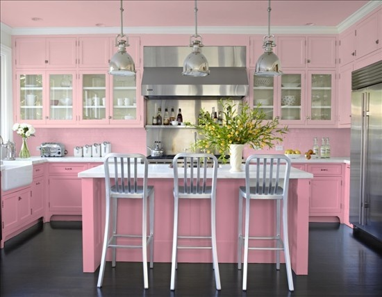 All Pink Kitchen 172 best pink kitchens! images on pinterest | dream kitchens, pink