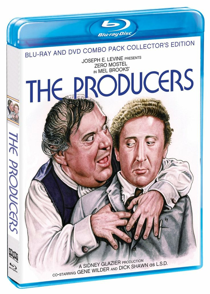 The Producers (1968) ($21.77) http://www.amazon.com/exec/obidos/ASIN/B00C7A8X4Q/hpb2-20/ASIN/B00C7A8X4Q I loved this movie the first time I saw it. - Truly, this film gets better with repeated viewing. - Aside from having a Beginning/Middle/End and being very entertaining (sadly, many films today miss this entirely!), this is a very funny film.