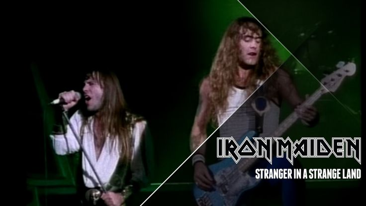 Iron Maiden - Stranger In A Strange Land (Low Definition) #IronMaiden Now available in HD: https://www.youtube.com/watch?v=UJsl-bB7lmk Music video by Iron Maiden performing Stranger In A Strange Land.