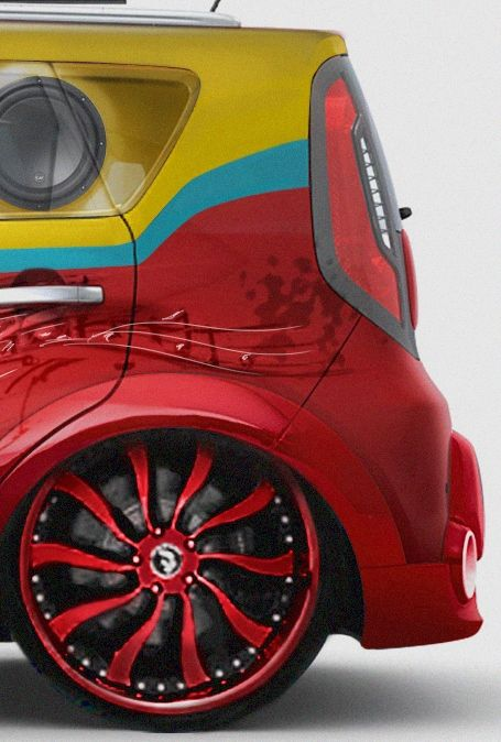 Sneak peek at the Vans Warped Tour Soul, featuring a slide-out barbeque and a barrage of Infinity speakers to deliver a true concert experience. Vehicle will be revealed at SEMA, Oct/Nov 2013. http://www.kiamedia.com/us/en/media/pressreleases/7525/kia-motors-america-sema-show-2013-sneak-peek