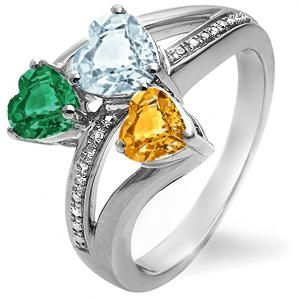 59c8b1cb2 Mother's day ring I want from Kays! Amanda, Cory & Ryan's birthstone ...