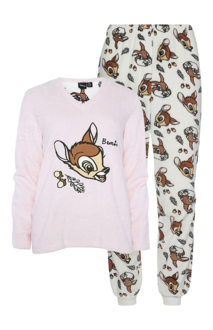 Primark Disney Pyjamaset Met Bambi Want Pinterest