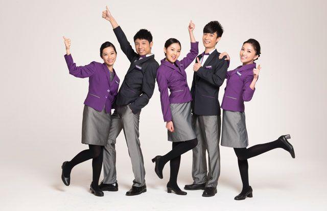 香港エクスプレス航空、新制服を導入