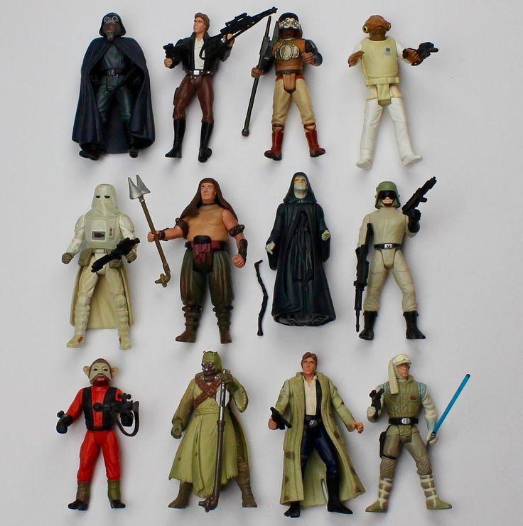 "STAR WARS LOT of 12 Loose 3.75"" Figures & Accessories Snowtrooper 1997 Kenner  #Kenner"