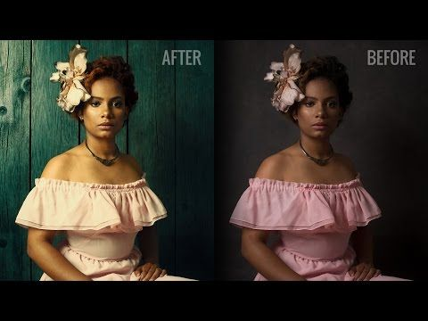 Photoshop Trick: How to Swap a Photo Background Using Only Blend Modes