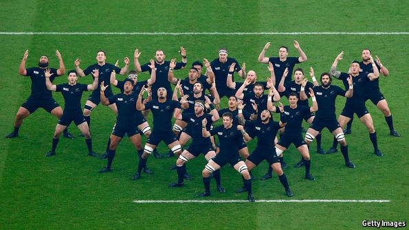 A game of chants: A history of the New Zealand rugby #haka
