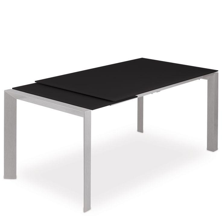 € 498,90 #sconto 70% BLAZE dark #tavolo moderno rettangolare allungabile a quasi 2 metri e con le gambe sempre perimetrali, ideale per la sala da pranzo. in #offerta #prezzo su www.chairsoutlet.com