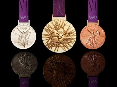 One day I'm gonna win an Olympic Medal! It won't be one of these of course, but hopefully it'll be one from Rio in 2016!